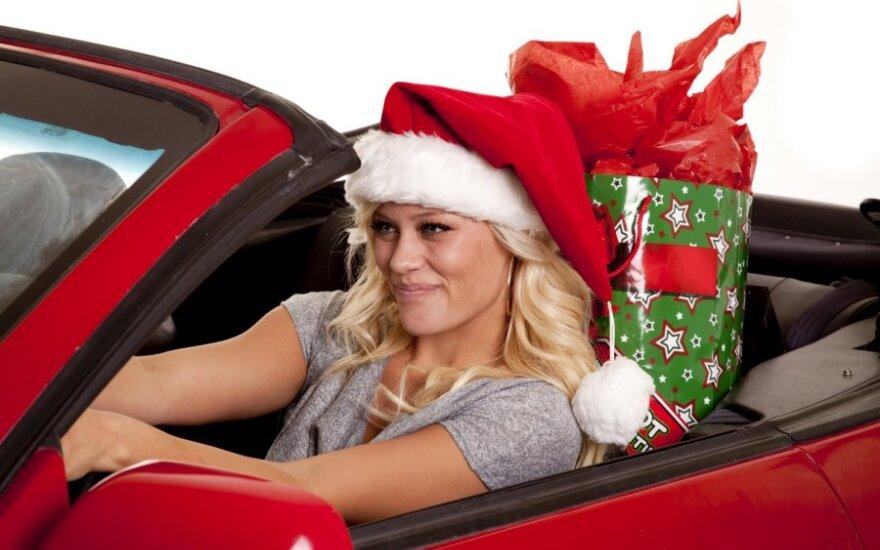 Kalėdinis automobilis