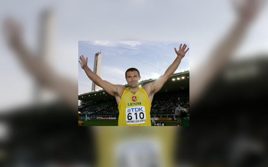 Virgilijus Alekna - dukart olimpinis ir dukart pasaulio čempionas