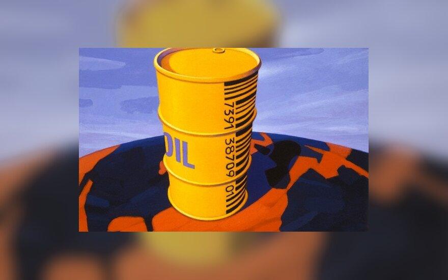 Po IEA ataskaitos nafta pinga