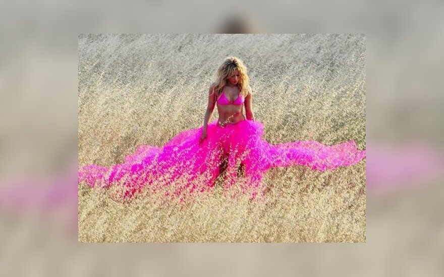 "Shakira          ""Splash"" nuotr."