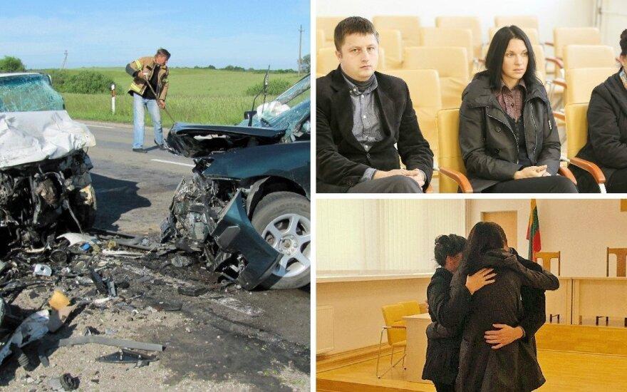 Džiaugsmo ašaros: pagaliau įrodė, kad dėl baisios avarijos kaltas girtas vairuotojas