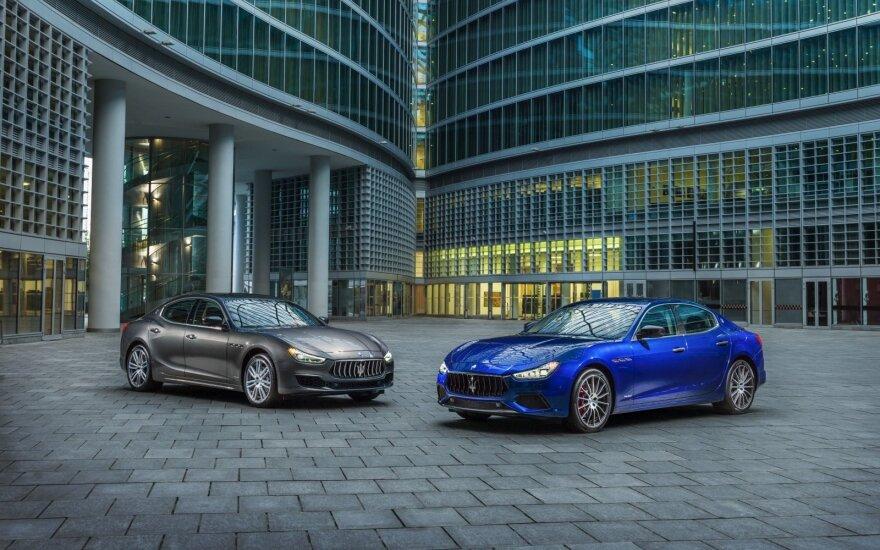 """Maserati Ghibli GranLusso"" ir ""Maserati Ghibli GranSport"""