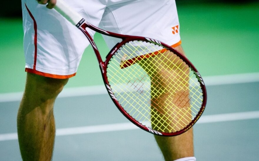 Tarptautinis teniso turnyras Vilniuje suburs ir apie 200 žaidėjų iš užsienio