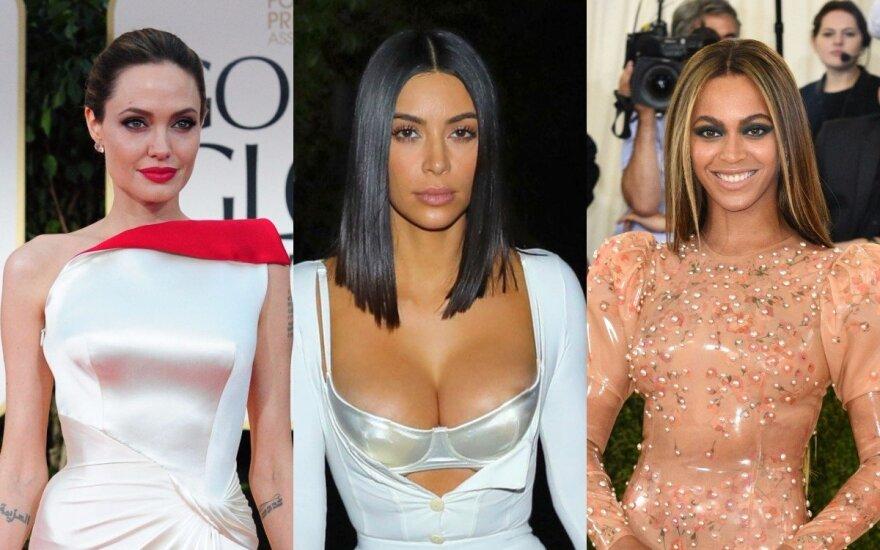 Angelina Jolie, Kim Kardashian, Beyonce