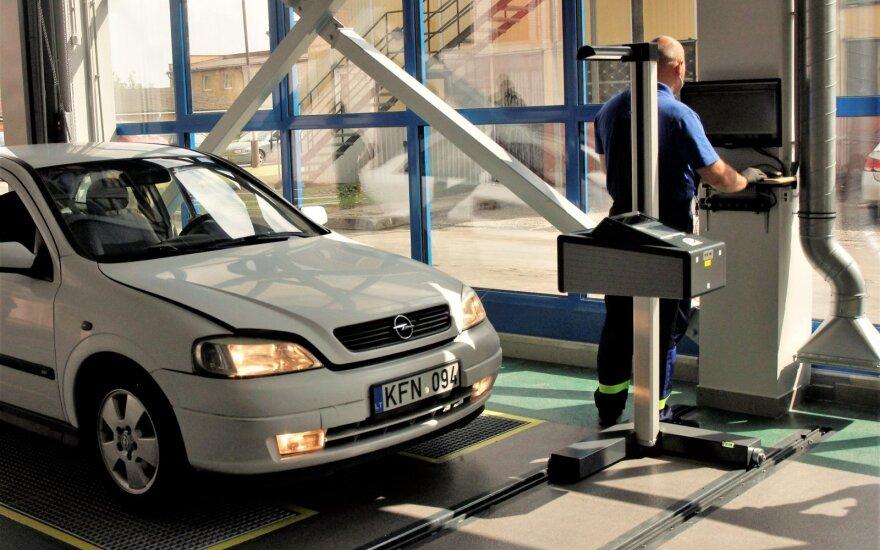 Atnaujino techninės apžiūros stotį Naujojoje Vilnioje: galės priimti dukart daugiau vairuotojų