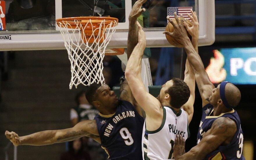 """NBA: """"Pelicans"""" – """"Bucks"""""""