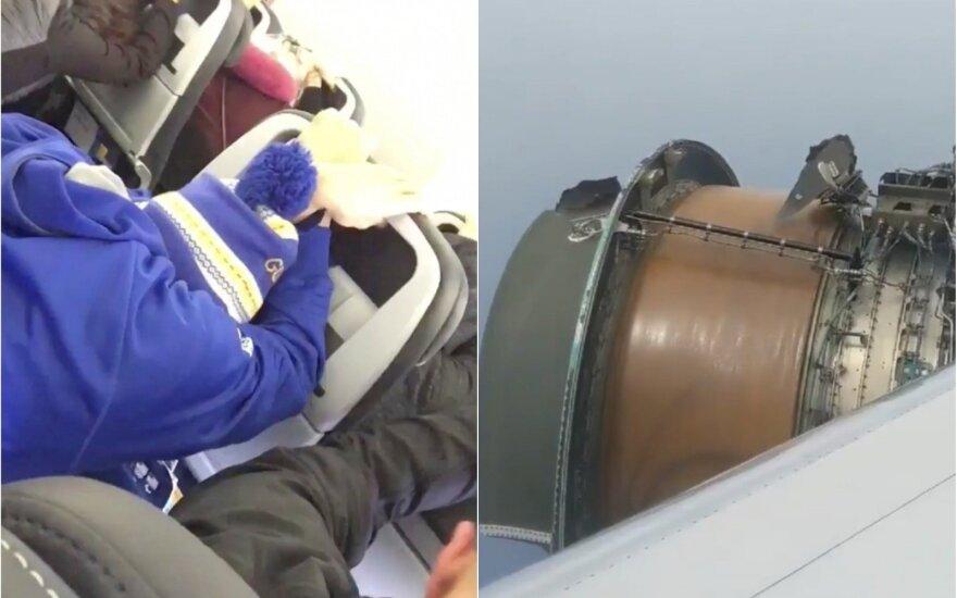 Košmariškas skrydis: lėktuvas pradėjo byrėti tiesiog ore