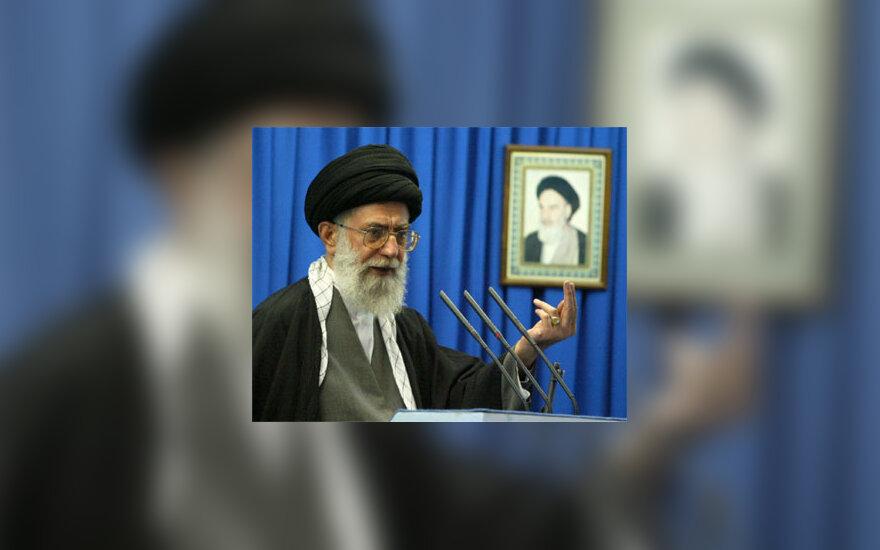 Irano vadovas ajatola Ali Khamenei