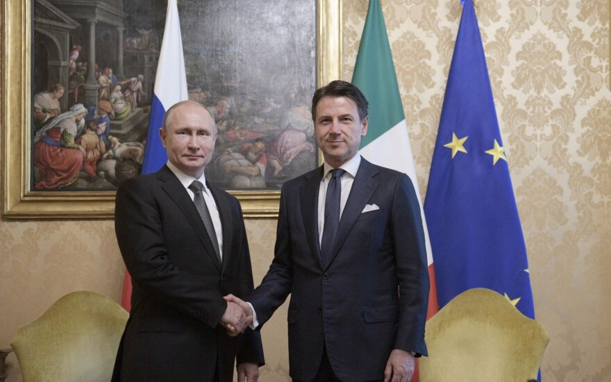 Putinas tikisi visiško Rusijos ir ES santykių normalizavimo
