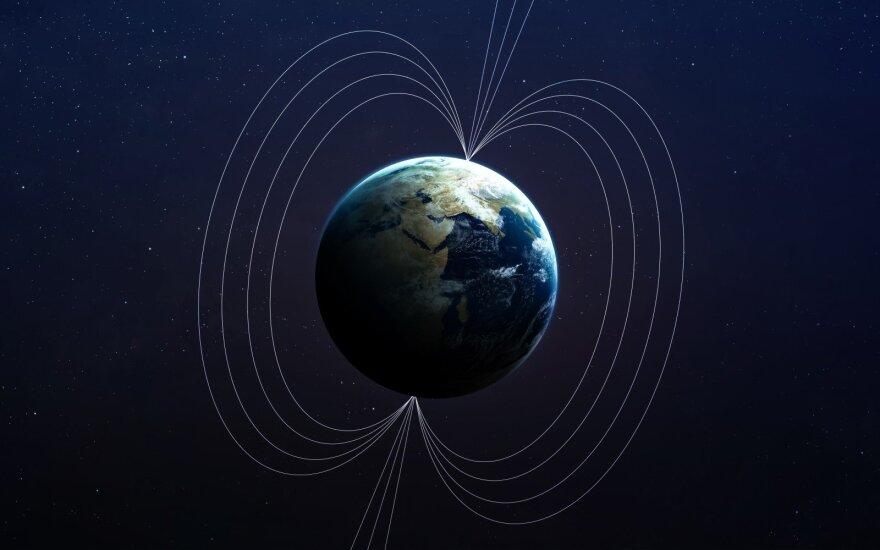 Žemės magnetiniai poliai