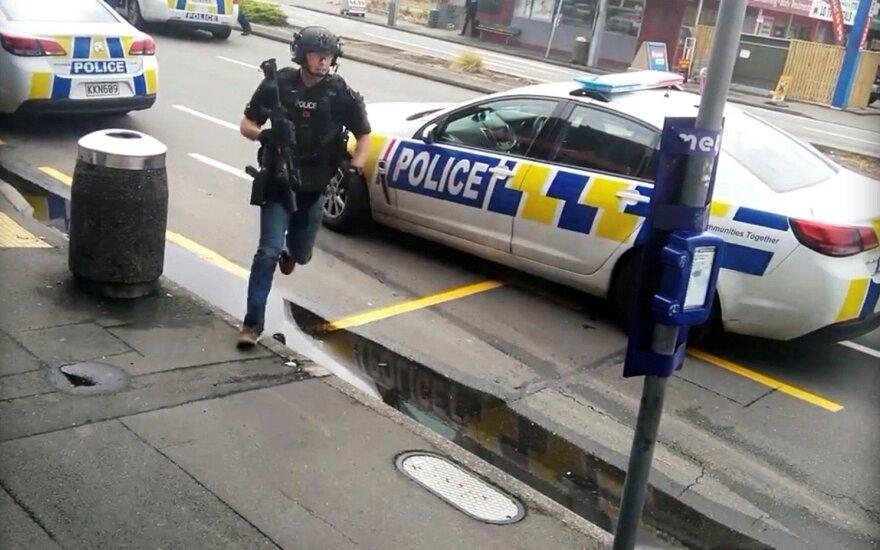 Policija: Naujosios Zelandijos šaulys planavo dar vieną ataką