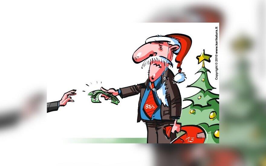 Vyriausybė ragina valdininkus nemokėti premijų