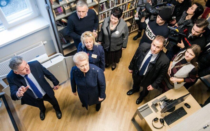 Duris po renovacijos atvėrė Grybauskaitės vaikystės biblioteka: dabar čia viskas kitaip