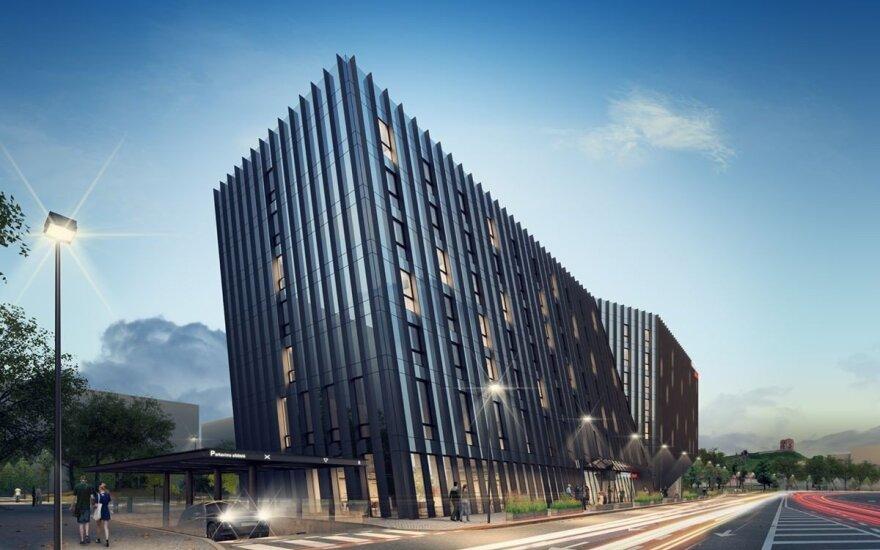 Vilniuje – didžiųjų viešbučių statybų bumas