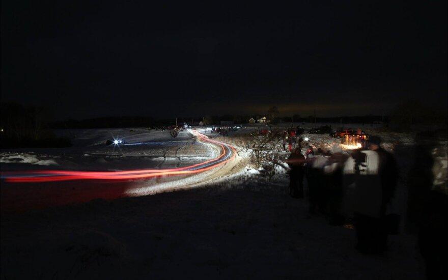 Žiemos ralio sauga rūpinsis itin gausios pareigūnų pareigos