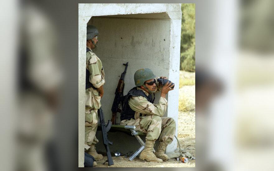 Amerikiečių ir irakiečių pajėgos pula Faludžą