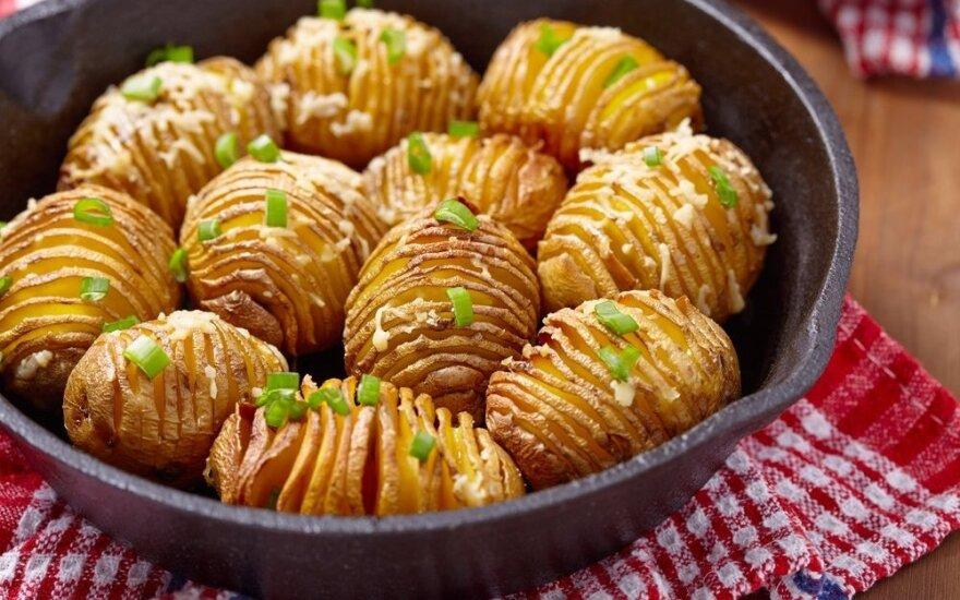 """Draugė rekomendavo šį receptą. Dabar <span style=""""color: #ff0000;"""">bulves ruošiu tik taip!</span>"""