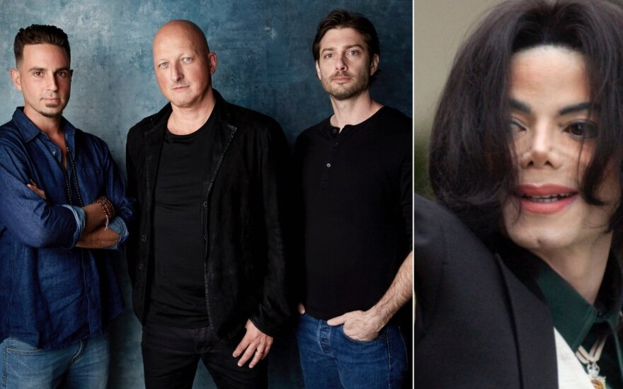 Wade Robson, Dan Reed, James Safechuck ir Michaelas Jacksonas