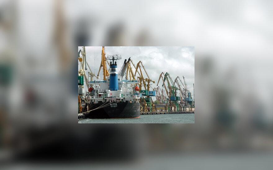 Laivai, uostas