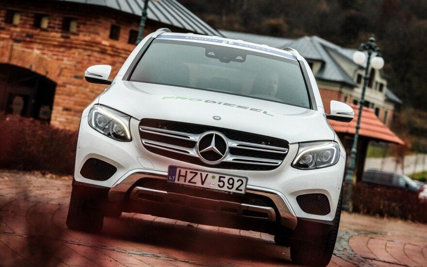 """""""Mercedes-Benz GLC"""" – aukščiausi saugumo įvertinimai"""
