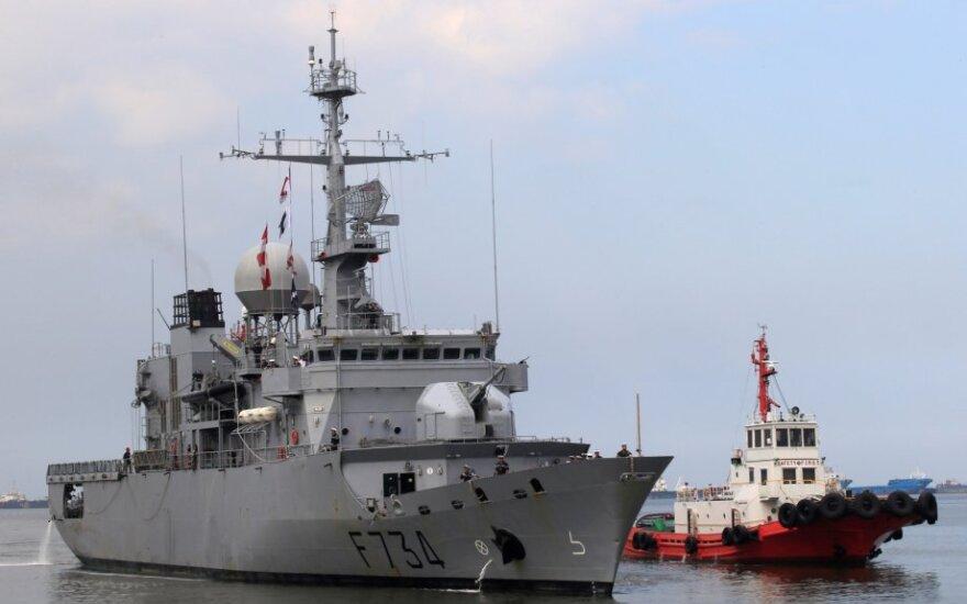 """Prancūzų fregata """"Vendemiaire"""""""