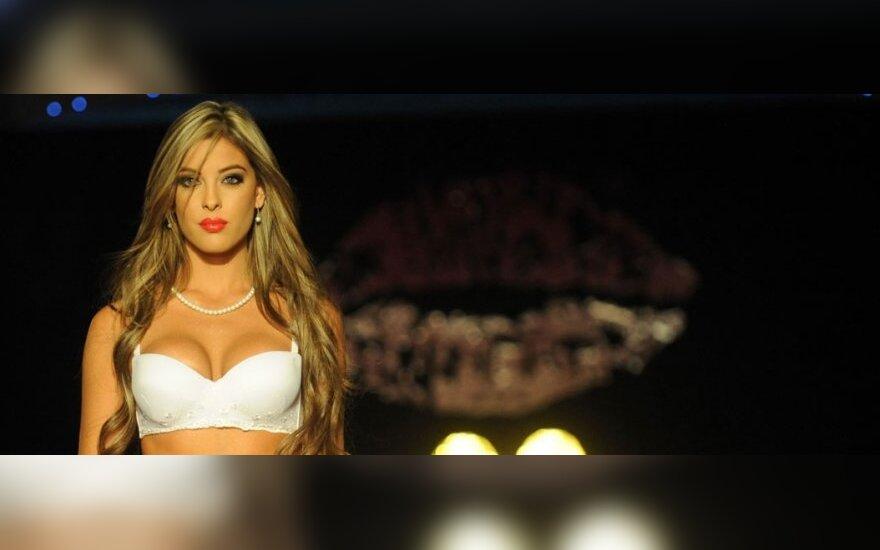 """Kolumbijos prekės ženklo """"Besame"""" apatinių drabužių pristatymas"""