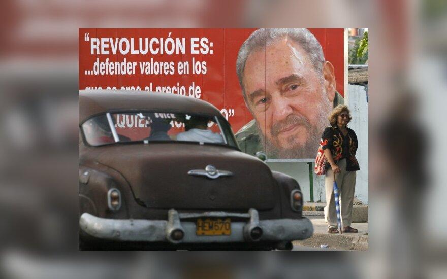 F.Castro: JAV nusiteikus priešiškai