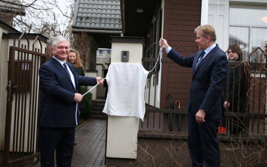 Armėnijos ambasados atidarymas