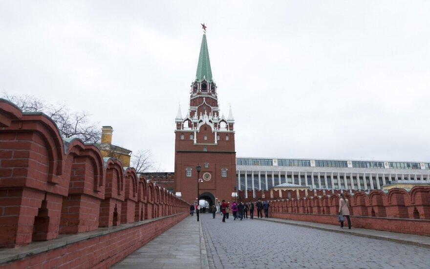 Dėl Kovo 8-osios protesto prie Kremliaus sulaikyta grupė feminisčių
