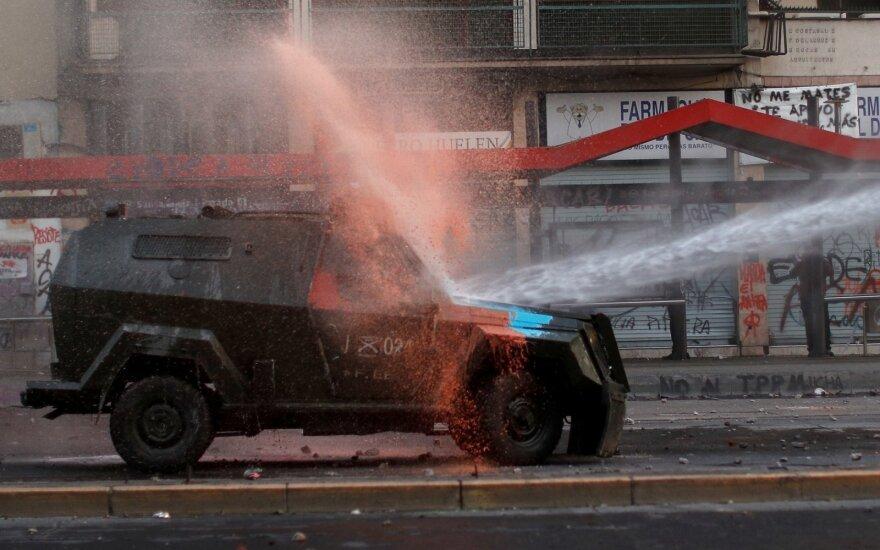 Protestai Čilėje