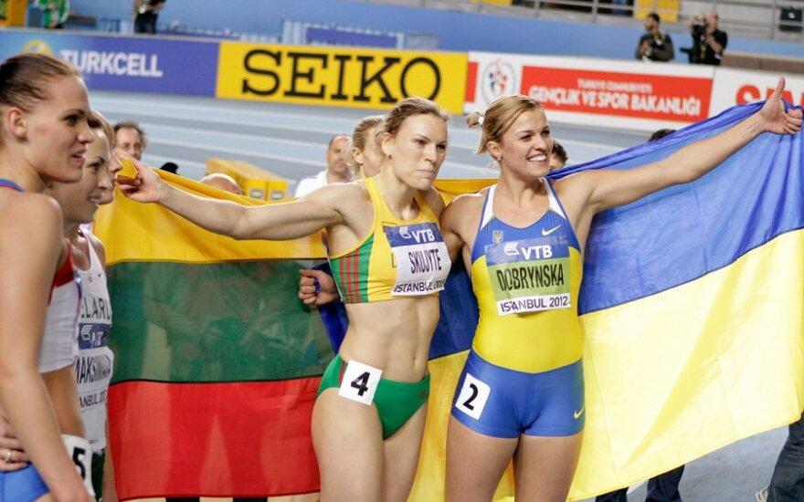 Austra Skujytė ir Natalija Dobrynska