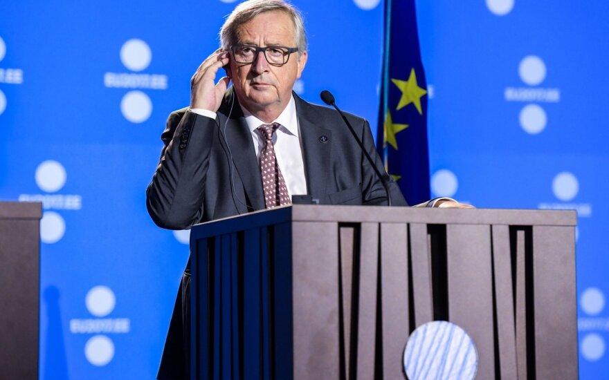 Junckeris: ES ruošia muitus pirmaujantiems JAV prekių ženklams