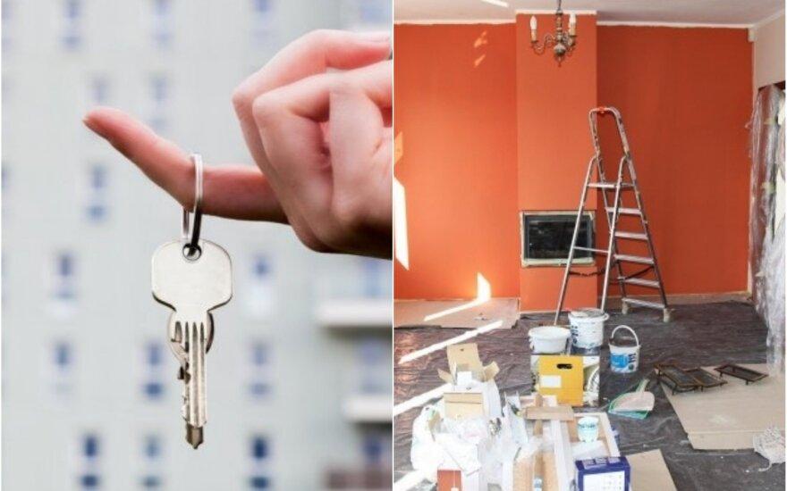 Parduodami būstą, dėmesį koncentruojame į nereikšmingas detales