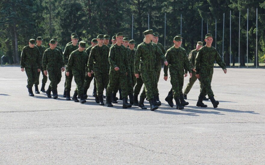 Croatian troops join international NATO battalion in Lithuania