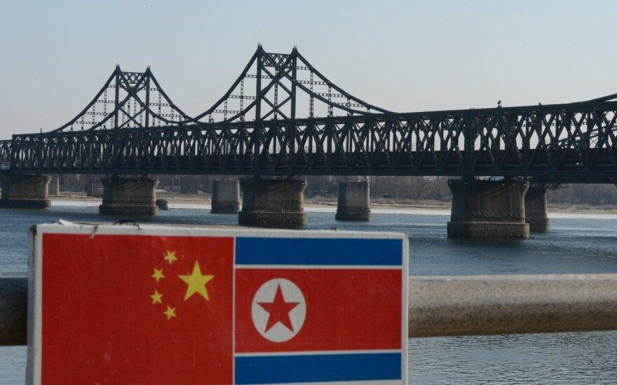 Šiaurės Korėjos ir Kinijos pasienis