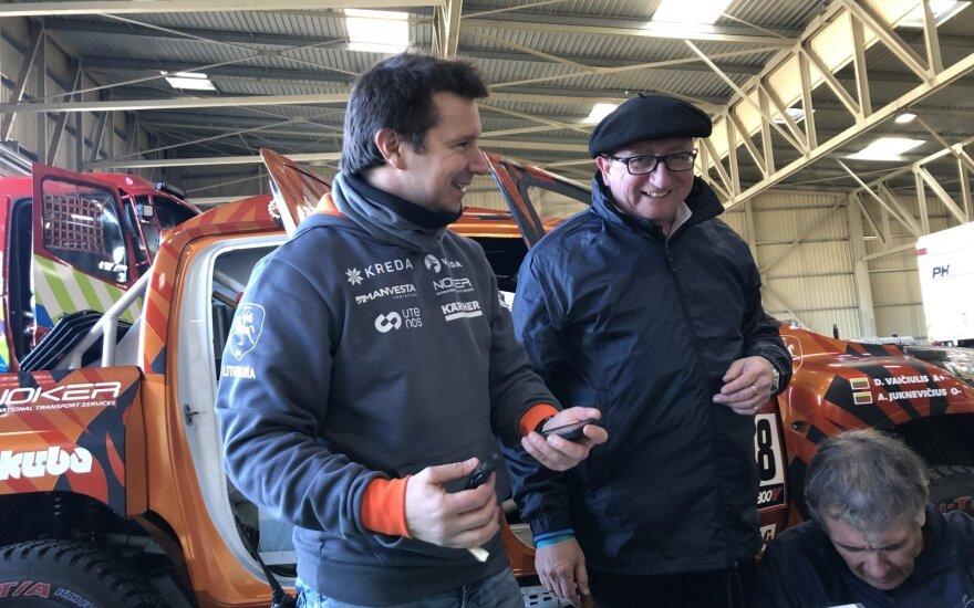 Antanas Juknevičius paliko Dakaro techniką Prancūzijoje
