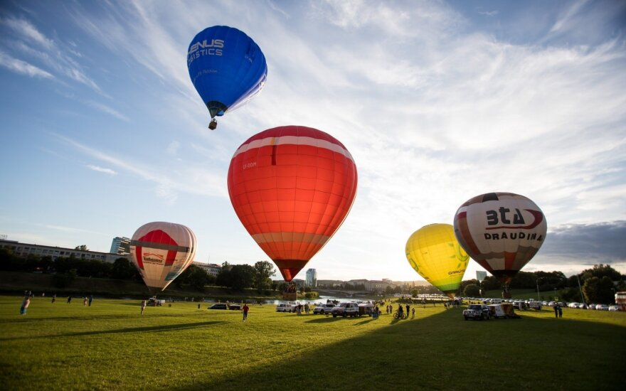 A record-breaking swarm of air balloons will variegate the sky above Kaunas this weekend