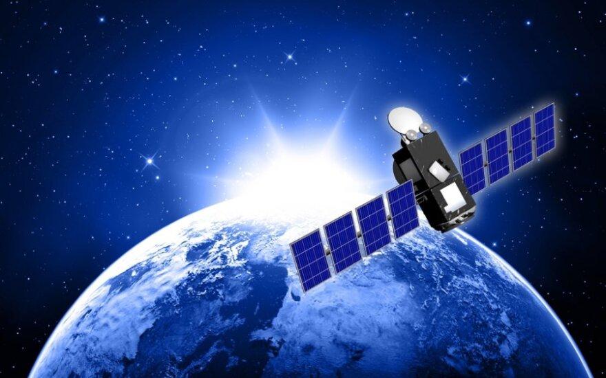 Šį savaitgalį į Žemę nukris Vokietijos palydovas