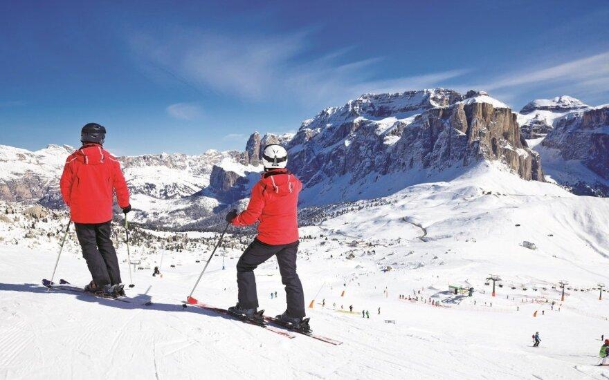 Žiemą slidinėsime Italijoje: kokį kurortą pasirinkti?