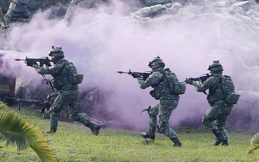 Taivano specialiųjų pajėgų kariai