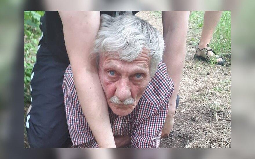 Nusikaltimo vietoje sučiuptas mažametės užpuolikas Vitalijus M.