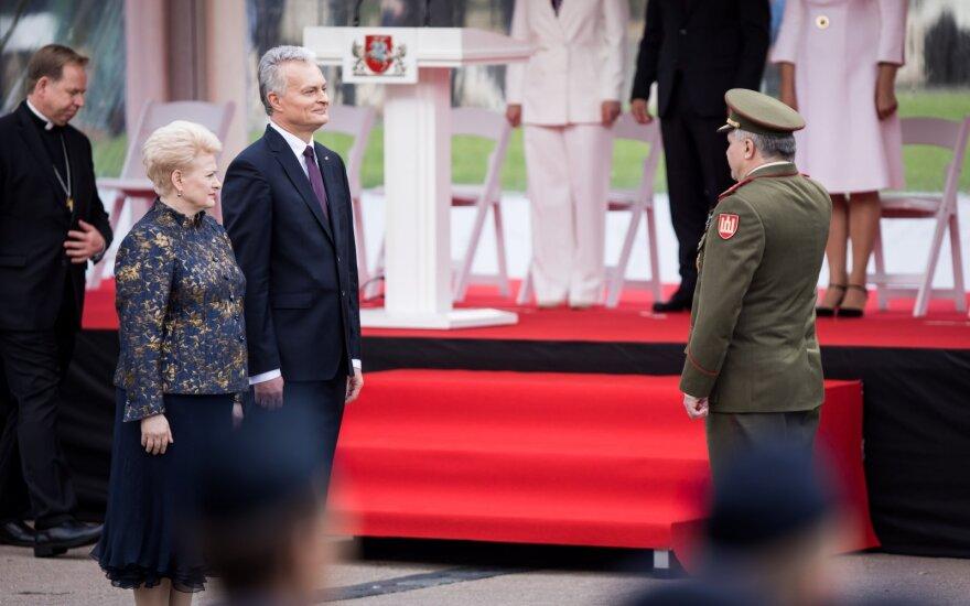 Dalia Grybauskaitė, Gitanas Nausėda, Vytautas Jonas Žukas