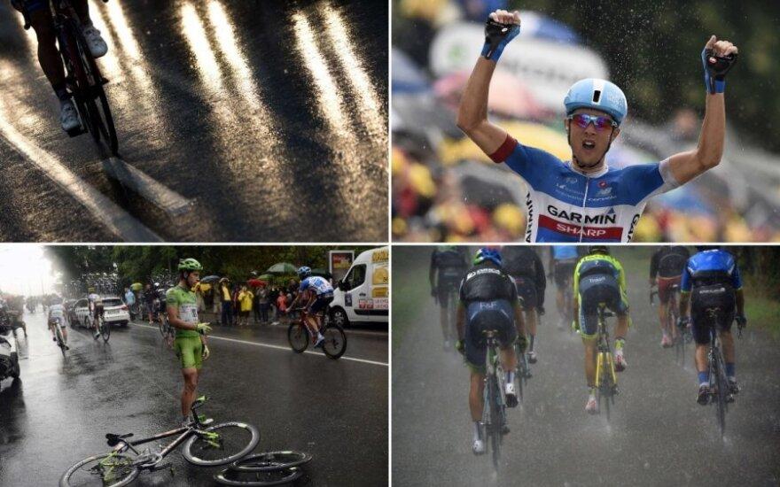 """R. Navardauskas – """"Tour de France"""" etapo nugalėtojas!"""
