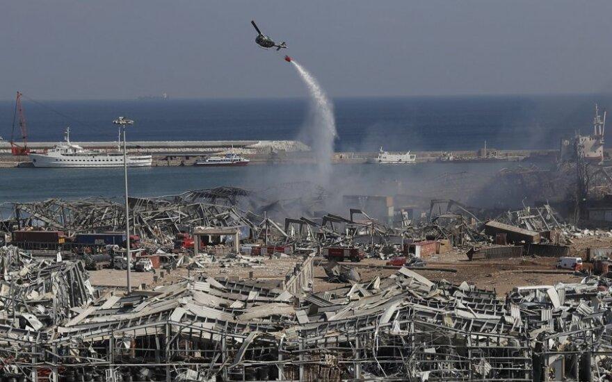 Per sprogimą Beirute žuvo vokiečių diplomatė