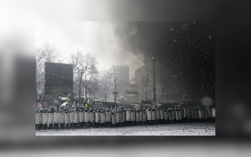 Ukrainos kovos su terorizmu daliniuose padidinta parengtis