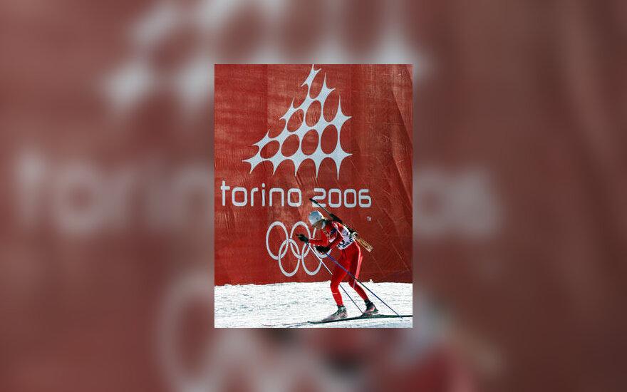 Biatlonininkas, Turino olimpiada