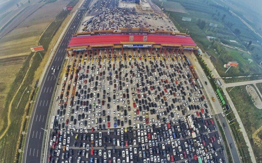Spūstis Kinijoje pranoks jūsų fantaziją