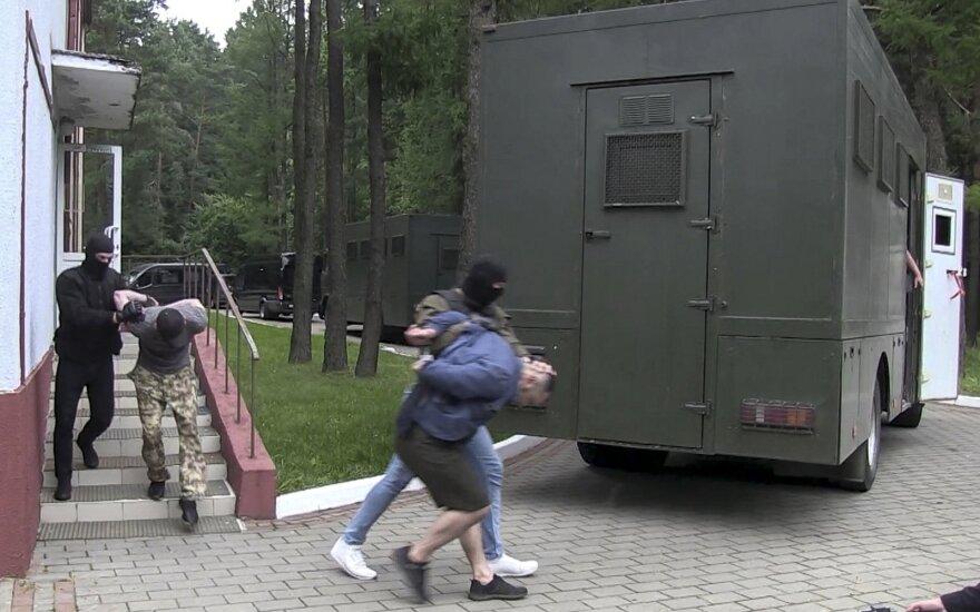 """Ukraina nusiuntė Baltarusijai prašymą išduoti sulaikytus """"Vagner"""" kovotojus"""