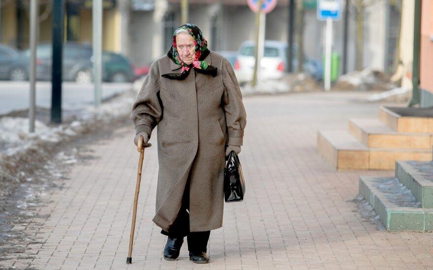 Pensioner in Alytus
