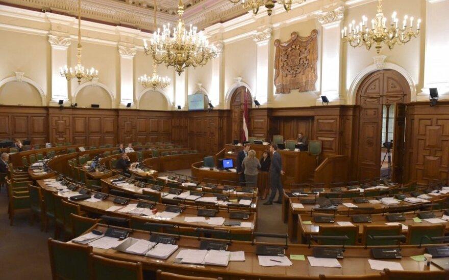 Latvijos partijos žada kitą savaitę prezidentui pasiūlyti kandidatą į premjerus